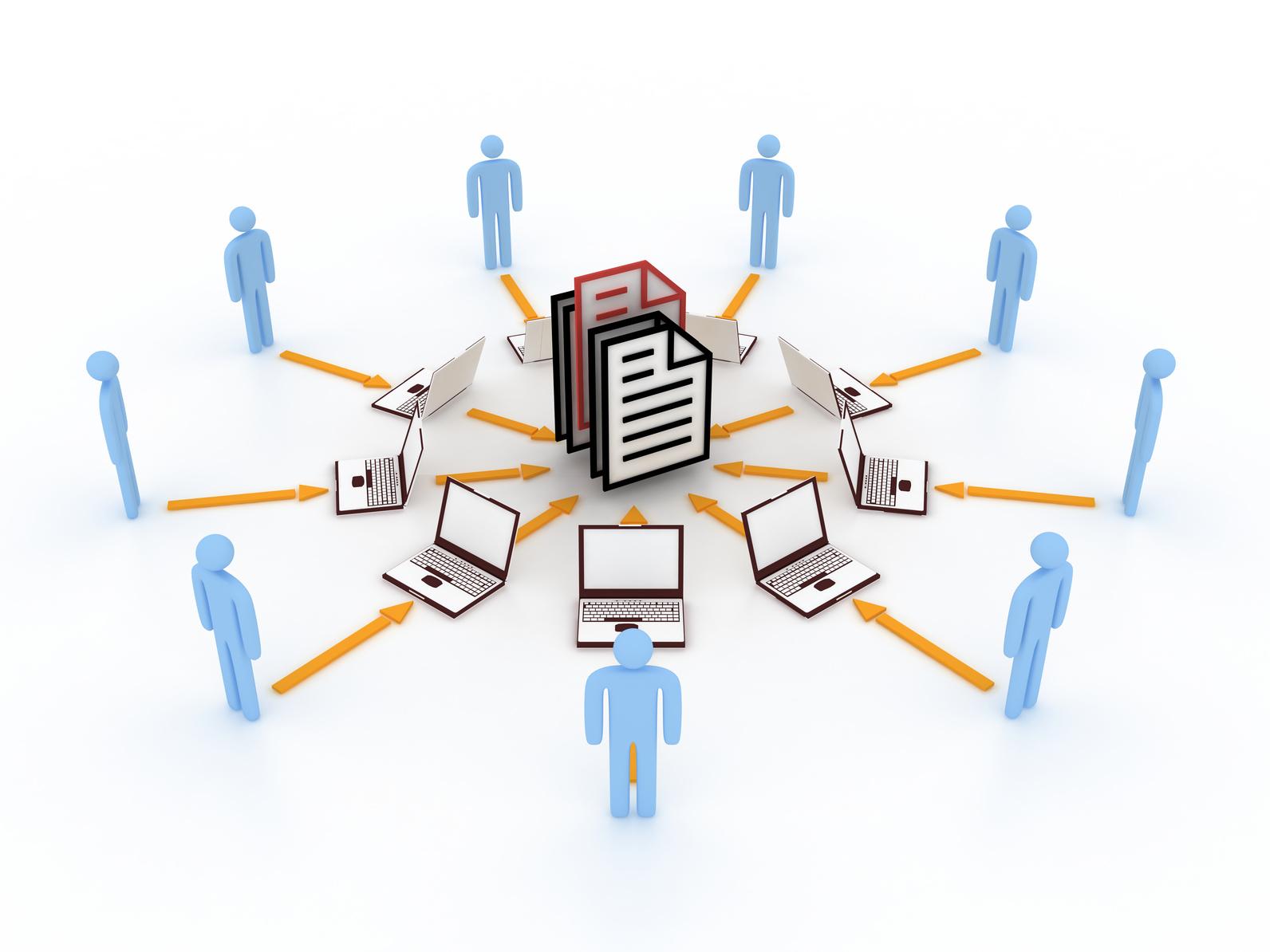 Ingenierie systeme internet concept